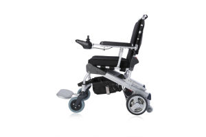 "8"" E-Throne Portable Lightweight Brushless Electric Wheelchair with Ce Certificate pictures & photos"