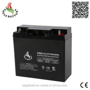 12V 20ah AGM Rechargeable Mf Lead Acid Storage VRLA Battery