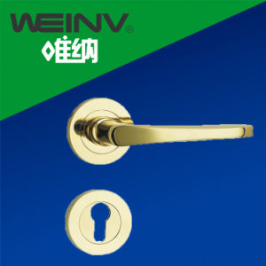 Zinc Alloy Door Lock Handle pictures & photos
