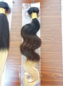 Malaysian Body Wave 8A Grade Virgin Hair Body Wave Ombre Soft Human Hair Weave Bundles Remy Human Hair Extension #1b&4&27 Body Wave Hair Bundles pictures & photos