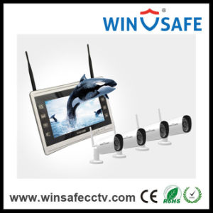 1080P Waterproof Wireless IP Camera WiFi Home NVR Kits pictures & photos