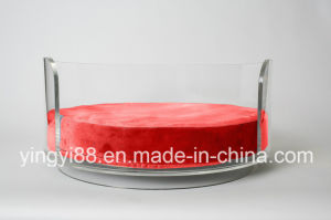 Super Quality Acrylic Curved Dog Bed pictures & photos