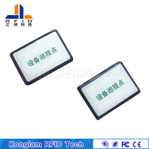 Customized Gas Tank Silk Screen Absorbing Waves Label RFID Tags pictures & photos