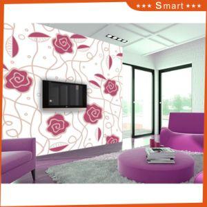 Manufacturer Custom Purple Rose Design 3D Home Decoration Oil Painting pictures & photos