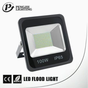 100W SMD LED Good Heat Dissipation IP65 Black LED Flood Light pictures & photos