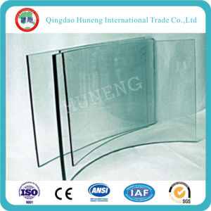 Tempered Door Glass/Table Glass/Curtain Wall Glass with ISO pictures & photos