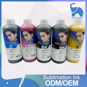 Original Korea Inteck Sublimation Ink for Textile pictures & photos