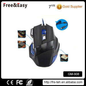 Wired LED Light 7D Gaming Mouse pictures & photos