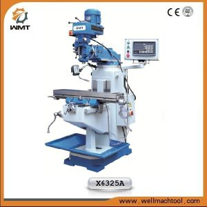 Universal Milling Machinery X6325A with Ce and ISO9001 Certificate pictures & photos