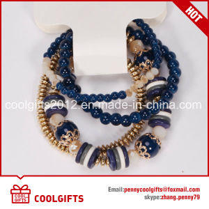 Popular Ladies Crystal Beads Bracelet for Wedding Gift pictures & photos