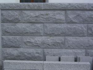 Exterior Granite Mushroom Stone for Wall Cladding Stone pictures & photos