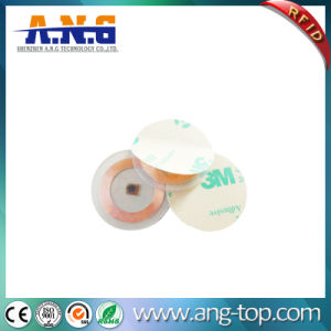 Lf Disposable Paper Passive Mini RFID Round Tag pictures & photos