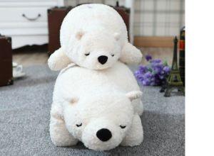 White Bear Plush Sleeping Pillow pictures & photos