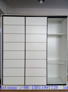 Melamine MDF Sliding Door Wardrobes (factory directly) pictures & photos
