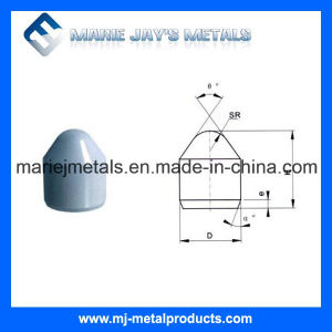 Tungsten Carbide Conical Buttons Mining Tool Made in China pictures & photos