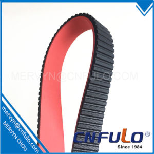 Red Coating Timing Belt for Packing Machine pictures & photos