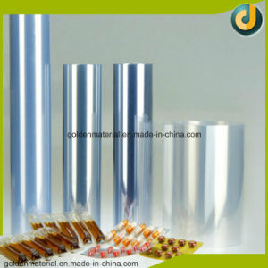 Rigid PVC Blue Clear Plastic Film for Pharmaceutical Used Medical Grade pictures & photos