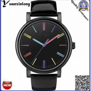 Yxl-141 Fashion Hot Sale Watches Vogue Charming Dress Watch Lady Leather Steel Case Colorful Dial Casual Watches Women pictures & photos