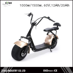 2000W Big Power City Coco E-Scooter with Double Seats Front Shock Absorber pictures & photos