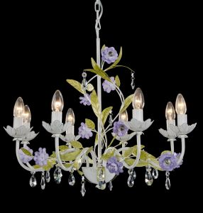 Purple with Green Foral Chandelier pictures & photos