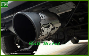 Poison Spider Exhaust Muffler with Two Pipes for Jeep 4X4 Wrangler pictures & photos