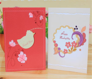 Fancy Cartoon Paper Card Custom Greeting Cards Printing pictures & photos