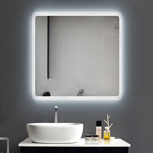 Hotels and Hospitality LED Fogless Wall Lighted Mirrors Bathrooms pictures & photos