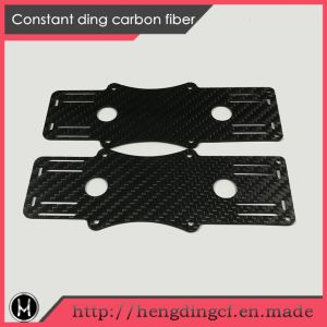 CNC Finishing Plain Carbon Fiber for Uav pictures & photos