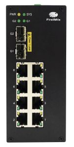 Gigabit Fiber Optic Industrial Ethernet Poe Switch pictures & photos