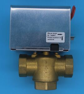 2/3 Way Spring Return Hydraulic Brass Motorized Gate Valve (HTW-W27) pictures & photos