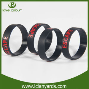 Festival Custom Rubber Silicone Club Bracelet for Event pictures & photos