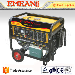 3kw Electric Start Three Phase Gasoline Generator Set (EM4800A) pictures & photos