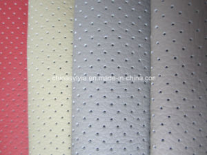 Perforated Microfiber Leather pictures & photos