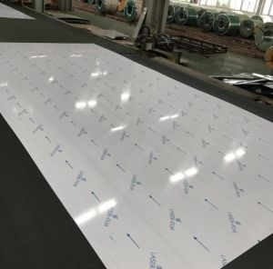 Cold Rolled Stainless Steel Sheet 201 No. 4 with Laser PVC pictures & photos