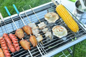 Outdoor Home Garden Camping Metal Barbecue Grill with Ce pictures & photos