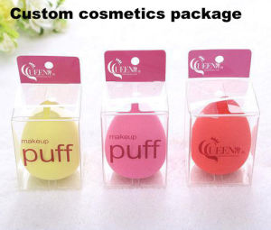 OEM Plastic PVC box with printing for make up pictures & photos