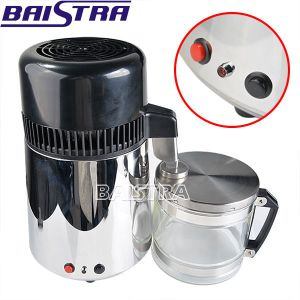 Top Quality Glass Jug Water Distiller with Stainless Steel Body pictures & photos