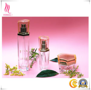 Shaped Glass Bottles for Body Lotion pictures & photos