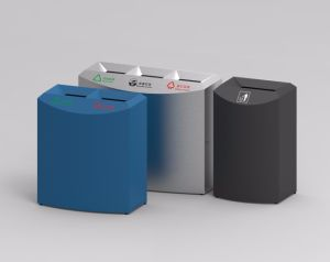 European Style Outdoor Waste Bin From Shining Factory (HW-508) pictures & photos