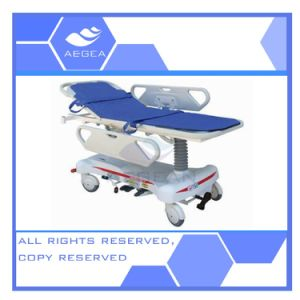 AG-HS008 Ce ISO Luxurious ABS Handrail Hospital Patient Transfer Stretcher pictures & photos