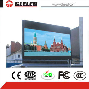 Voltage Automatic Adjustable 110V to 240V Outdoor Advertising Billboard LED Digital Sign (P10mm) pictures & photos
