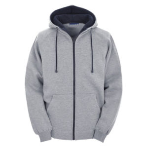Wholesale Man Black Plain Hoodie pictures & photos