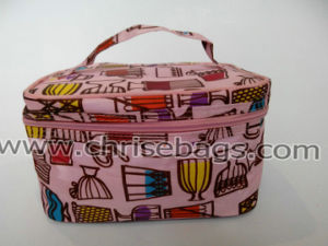 Polyester Cosmetic Handbag pictures & photos