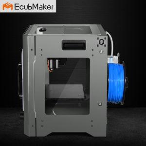 Ecubmaker Black Metal Housing Dual Extrusion 3D Printer pictures & photos