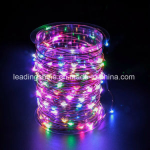 Remote Control 200 Micro Starry LEDs on Silver Extra Thin Copper Wire Wedding Centerpiece or Table Decoration pictures & photos