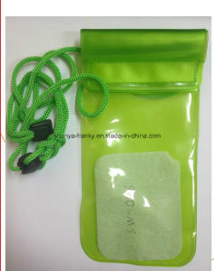 PVC Waterproof Bag PVC Phone Bag PVC Beach Bag Mobile Phone Pouch pictures & photos