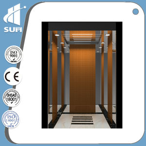 Speed 1.5m/S Mirror Etching Stainless Steel Passenger Elevators pictures & photos