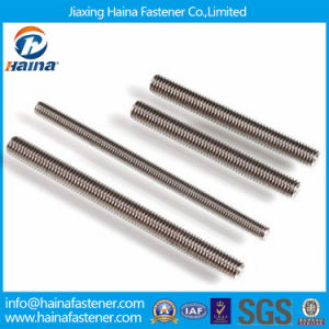 Double End Threaded Rod Threaded Rod Stainless Steel Stud Bolt with Nut pictures & photos
