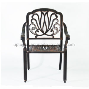 Antique Outdoor Metal Cafe Chair with Four Legs (SP-OC353) pictures & photos