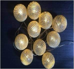 LED Chain Ball with Small Hair